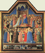 Thomas de Aquino in Coronatione Mariae a Fra Angelico depicta (Louvre, Paris)