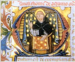 Thomas Aquinas in cod. Burgo de Osma, Biblioteca del Cabildo 3B [Iª-IIae, pr.], A.D. 1464 exarato
